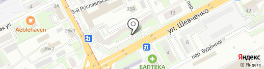 NOA на карте Смоленска