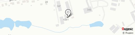 Аэрологическая станция на карте Смоленска