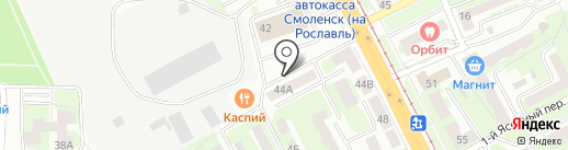 Мастерская по резке стекла на карте Смоленска