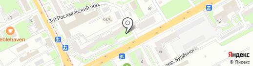 Carambola на карте Смоленска