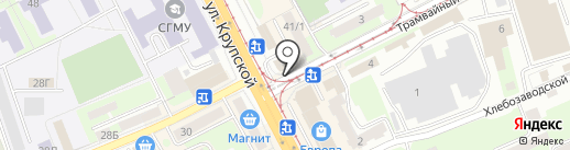 Марьяна на карте Смоленска
