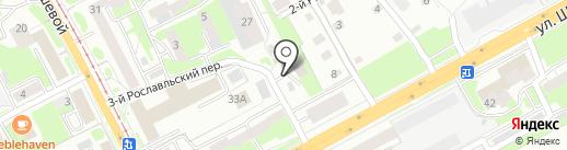 Строй-Сервис на карте Смоленска
