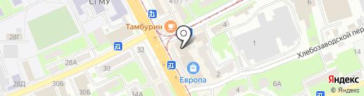 Магазин парфюмерии на карте Смоленска