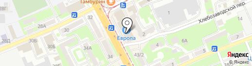МОДЕНА МЕБЕЛЬ на карте Смоленска
