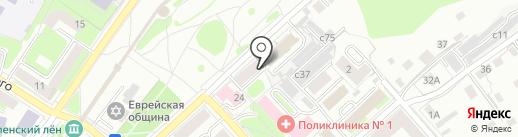 Новый адрес на карте Смоленска