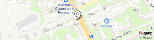 Фарбо Квалито на карте Смоленска