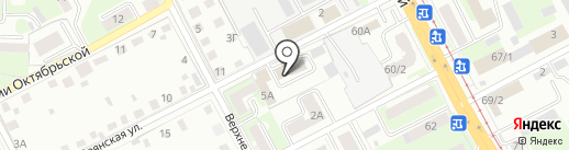 Вымпел на карте Смоленска