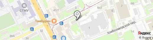 Постоянно действующий Смоленский Третейский суд на карте Смоленска