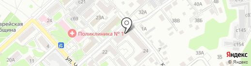 ЭПОС на карте Смоленска