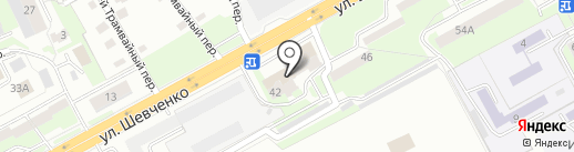 Сбербанк, ПАО на карте Смоленска