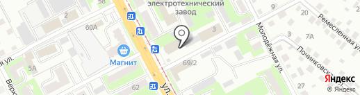 Киоск по продаже фкуктов и овощей на карте Смоленска