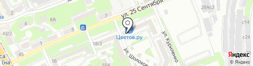 Поехали! на карте Смоленска