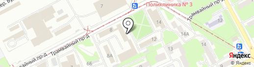 Смоленское региональное агентство недвижимости и землеустройства, ОГУП на карте Смоленска