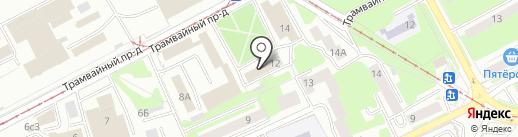 Смоленсккоммунпроект, ОГУП на карте Смоленска