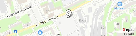 ТСК Смоленск на карте Смоленска