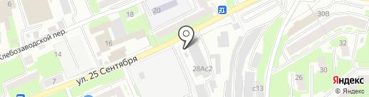 КОИС-МЕТ на карте Смоленска