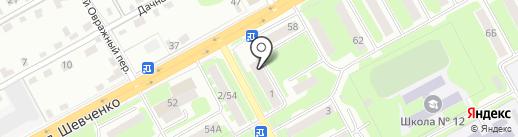 Продукты на карте Смоленска