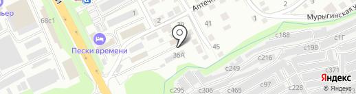 РОТОР на карте Смоленска