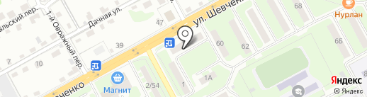 Анастасия на карте Смоленска