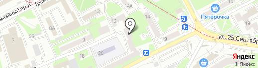 Проектировщик на карте Смоленска