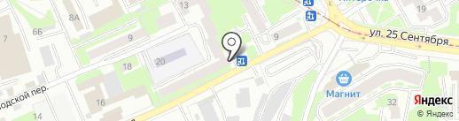 GidraBox на карте Смоленска