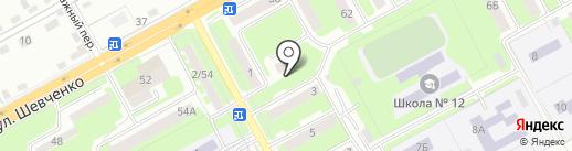 Нотариус Семенова Ю.Н. на карте Смоленска