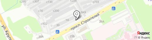 Авто Драйв на карте Смоленска