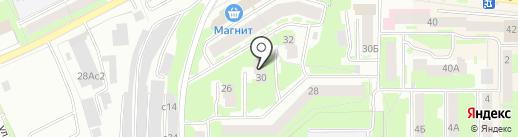 Кадастровый центр на карте Смоленска