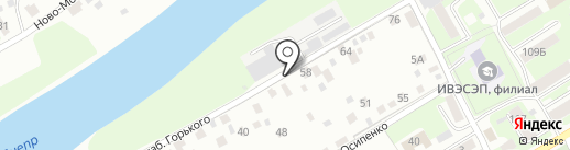 Радист на карте Смоленска