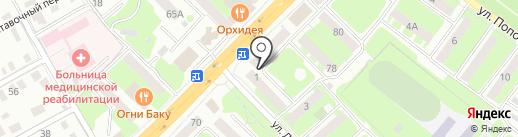Мастерская по ремонту обуви и изготовлению ключей на карте Смоленска