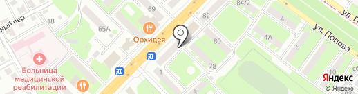 Пекарня №1 на карте Смоленска