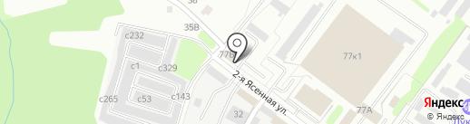 Зеленстрой, МКП на карте Смоленска