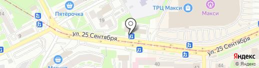 Тур-Брокер на карте Смоленска