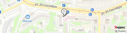 Авто-Лига на карте Смоленска