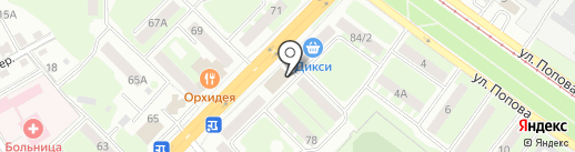 Банкомат, Газпромбанк на карте Смоленска