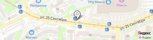 Киоск по продаже фастфудной продукции на карте Смоленска