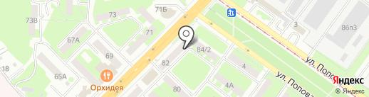 Волшебная шкатулка на карте Смоленска