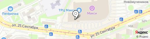 Мармеладный бегемот на карте Смоленска