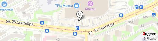 Киоск по продаже орехов и сухофруктов на карте Смоленска