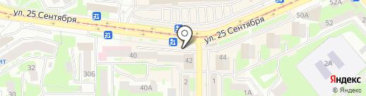 Киоск по продаже проездных билетов на карте Смоленска