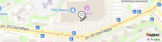 Бородач 67 на карте Смоленска