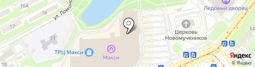 Comedy cafe на карте Смоленска