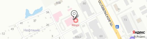 Центр ритуальных услуг на карте Смоленска