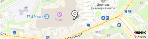 Феникс на карте Смоленска