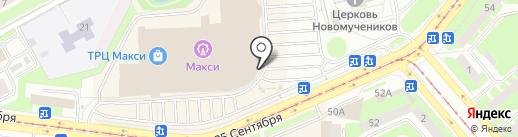 Наша Мама на карте Смоленска