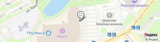 Белвест на карте Смоленска
