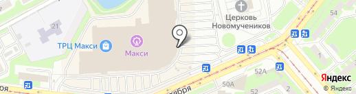Новая волна Kids на карте Смоленска