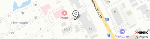 Стикс на карте Смоленска