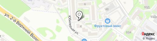 Золотая рыбка на карте Смоленска