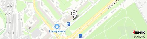 Бетон Экспресс на карте Смоленска